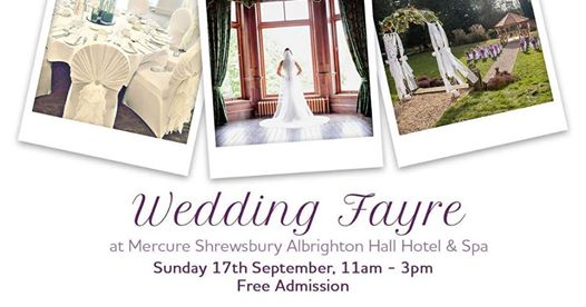 Albrighton Hall Hotel Wedding Fair 17th September