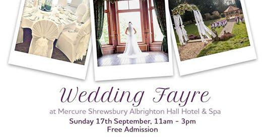 Albrighton Hall Hotel Wedding Fair 17th September
